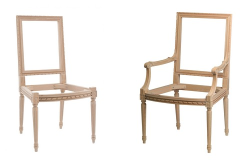 Zoom. 3257/3258. 3257 Louis XVI Square Back Side Chair ...